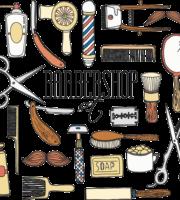 Barbearia Desenho PNG