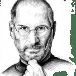 Desenho Steve Jobs PNG