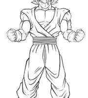 Desenhos para Colorir do Dragon Ball Super