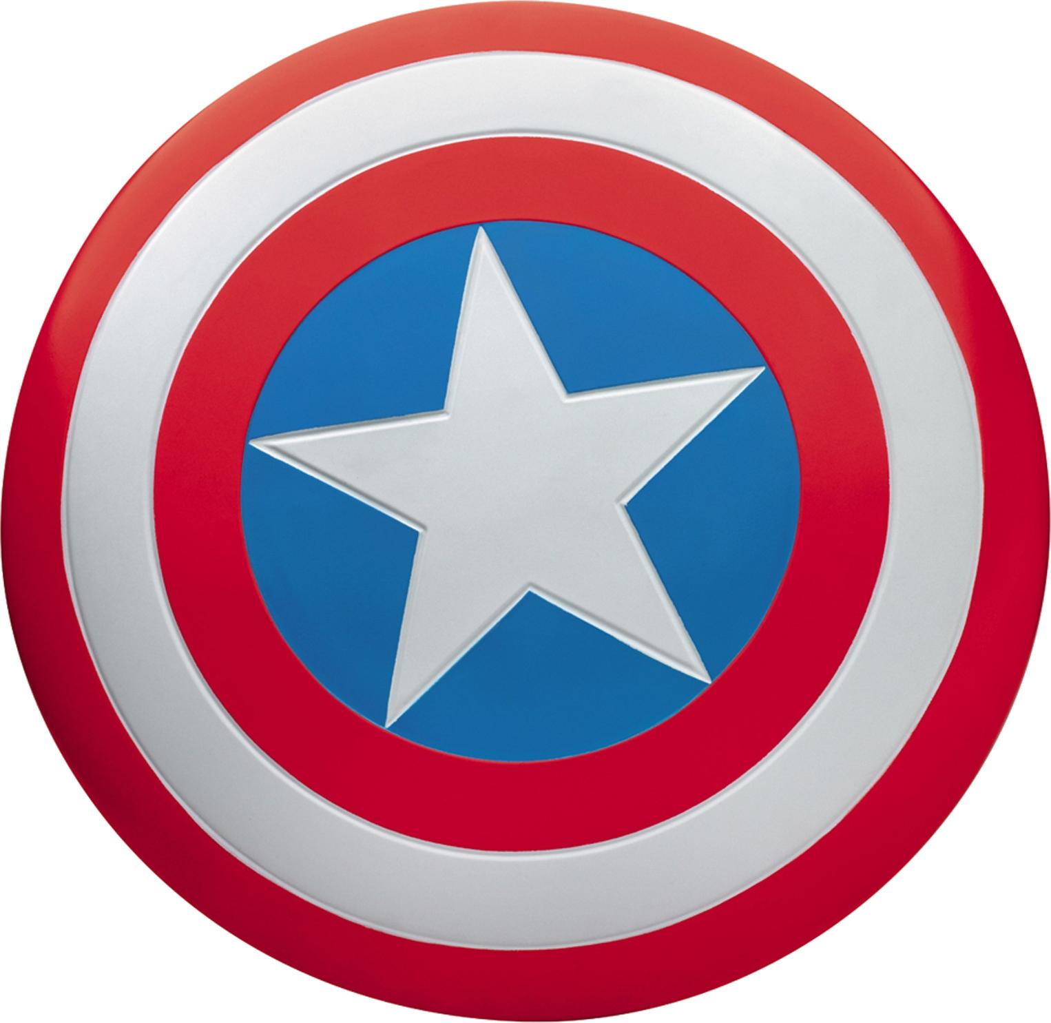 Imagem Escudo Capitão América PNG com fundo transparente