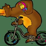 Desenho Animação Masha e o Urso PNG