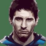 Desenho Messi PNG