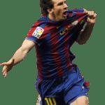 Figura Messi PNG