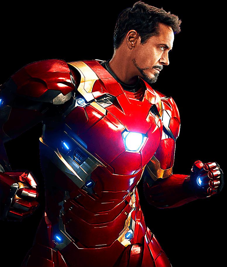 Imagem Tony Stark Homem de Ferro PNG em alta resolução