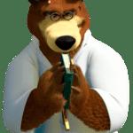 Imagem Urso Masha e o Urso PNG