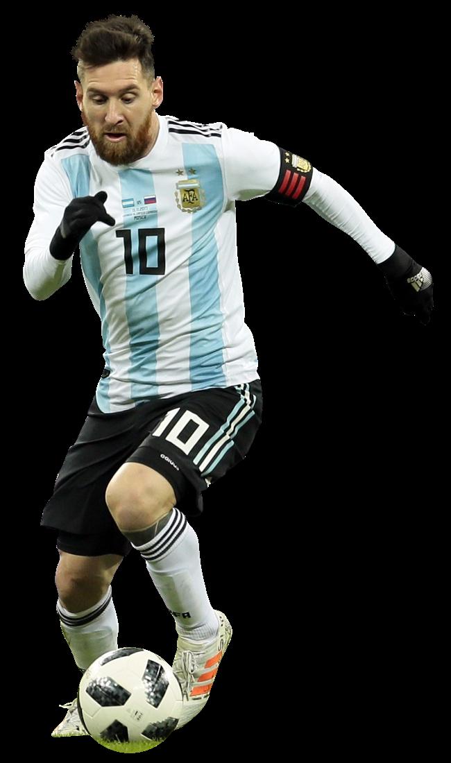 Uniforme Lionel Messi PNG com fundo transparente grátis