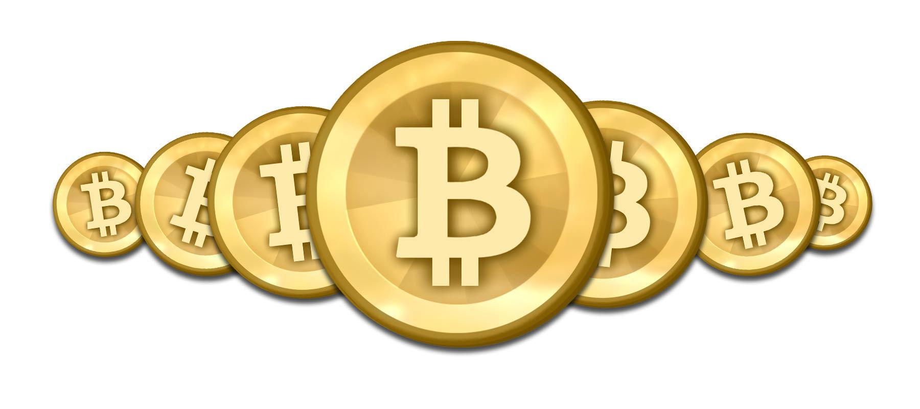 Moedas Bitcoin Png Com Fundo Transparente Para Baixar Gratis