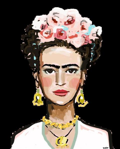 Ilustração de Frida Kahlo PNG - Arquivos e Vetores Frida ...