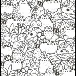 CHILDREN'S COLORING PAGES: PUSHEEN